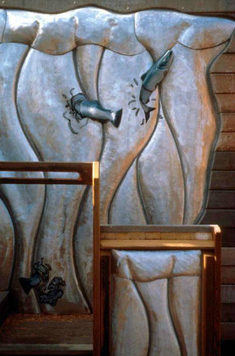Salmon Run (Waterfall)  2001